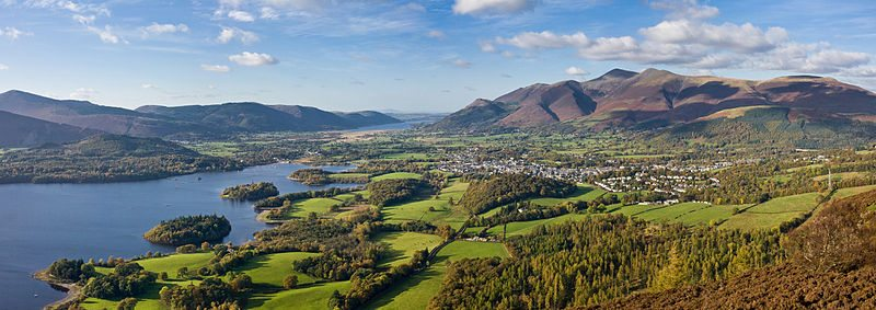800px-Keswick_Panorama_-_Oct_2009 - We are local to the Lakes and provide Lake District SEO Services