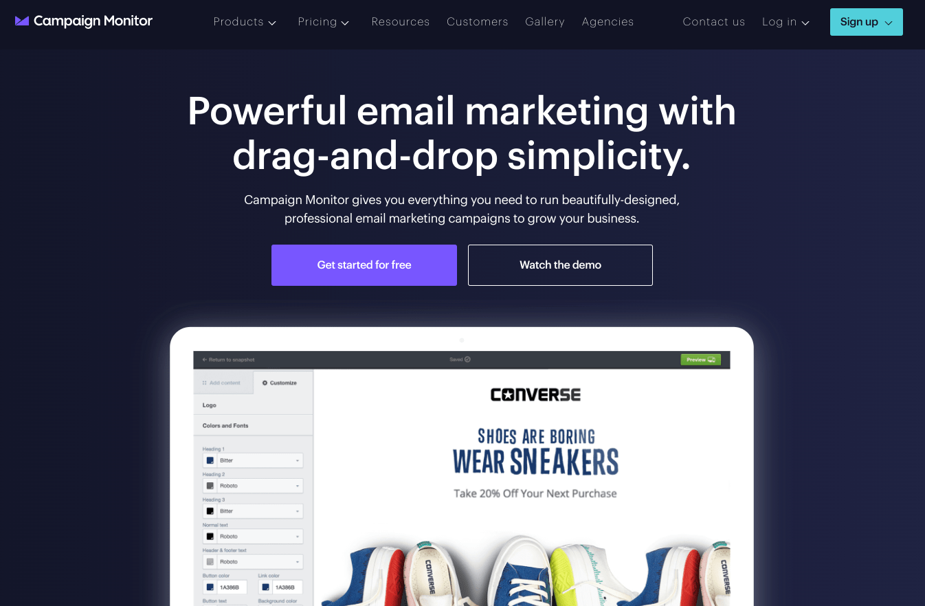 campaign-monitor - The Best MailChimp Alternatives